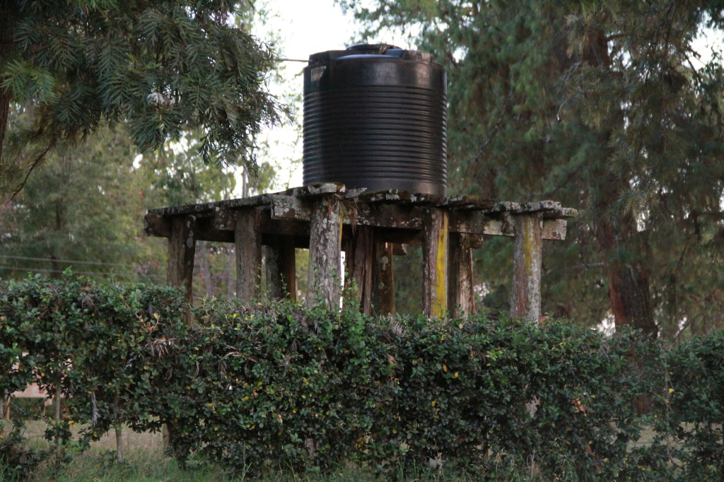 Our Water Tank - it would usually last a week with conservative use.